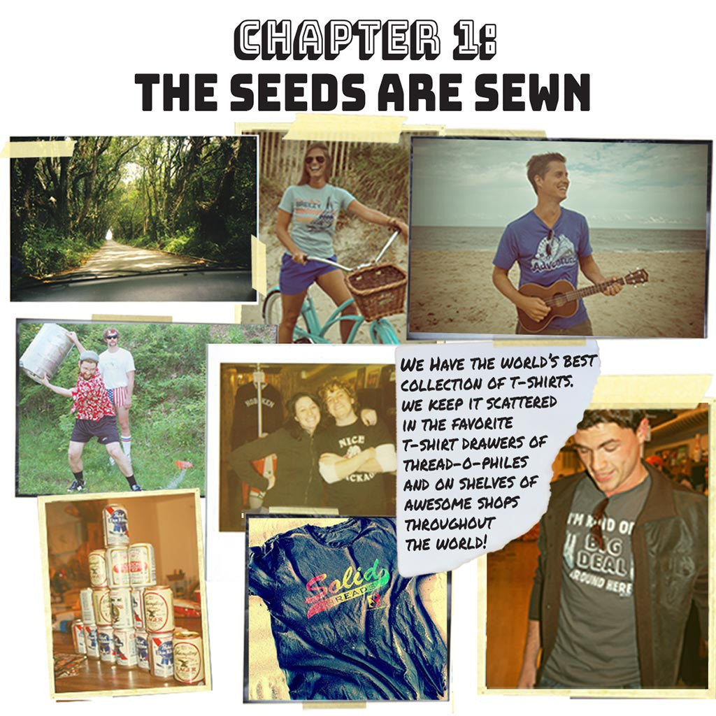 Building a Vintage T-shirt Brand | Solid Threads Chapter 1: The Seeds Are Sewn