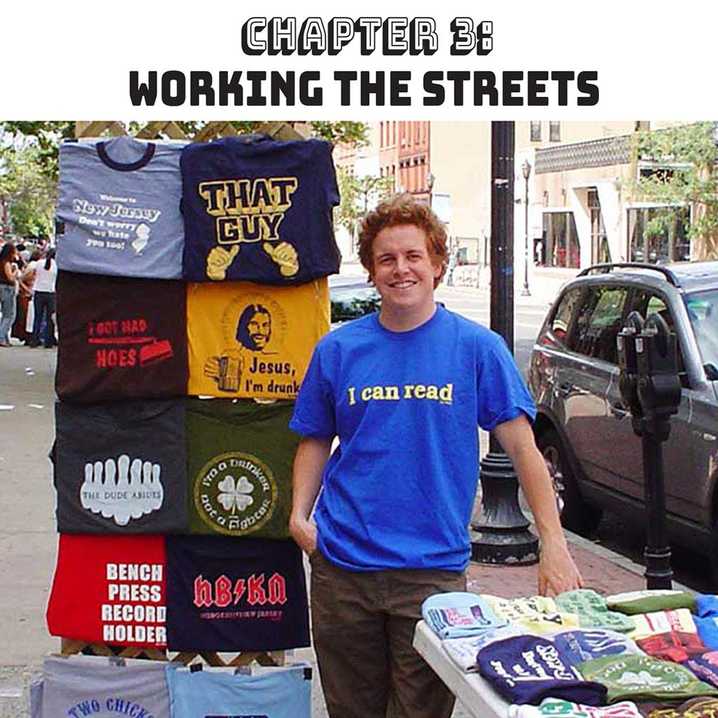 Making a Vintage T-shirt Brand | Solid Threads Chapter 3: The Streets