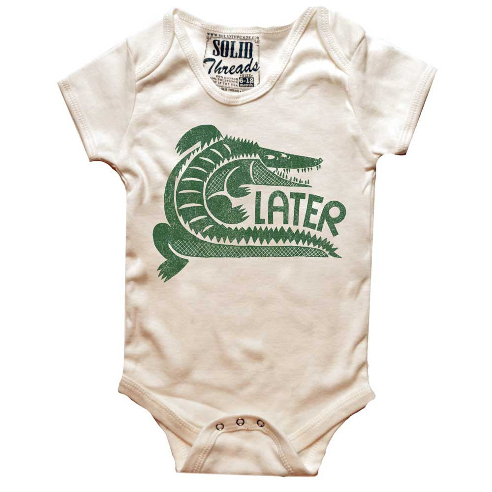 Baby Later Retro Onesie | SOLID THREADS