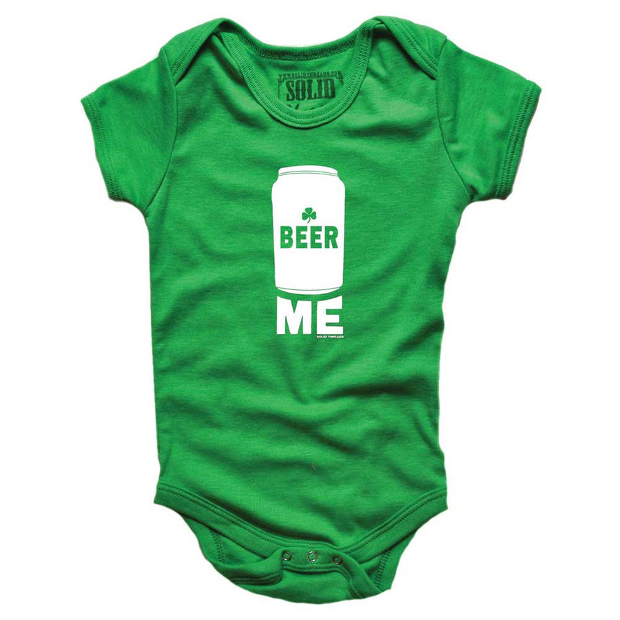 Baby Beer Me Retro Onesie | SOLID THREADS
