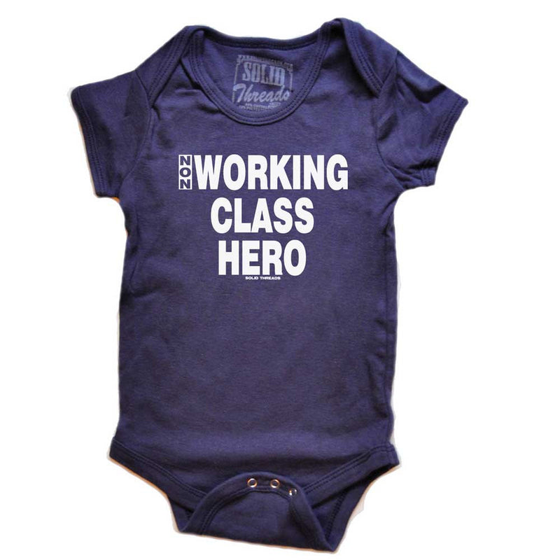 Baby Non-Working Class Hero One Piece Romper