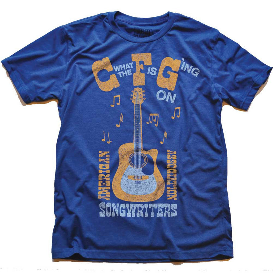 C' What The 'F' Is G'ing On Vintage Inspired T-Shirt | SOLID THREADS