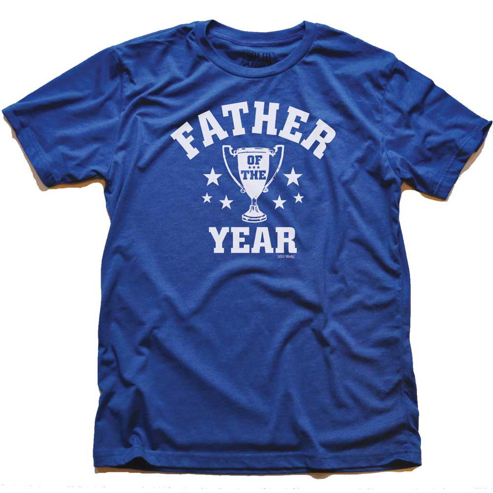 Father Of The Year Vintage Inspired T-shirt | SOLID THREADS