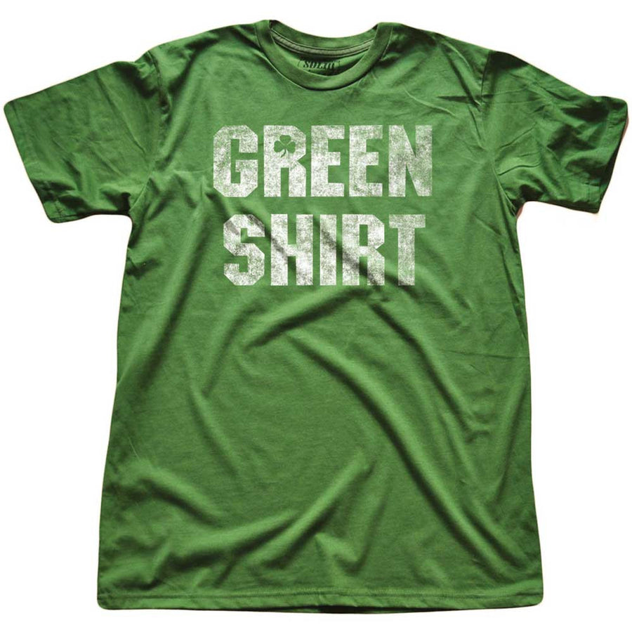 Green Shirt Vintage Inspired T-Shirt | SOLID THREADS