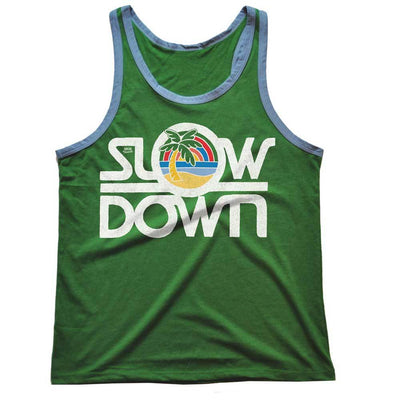 Slow Down Vintage Tank Top | SOLID THREADS