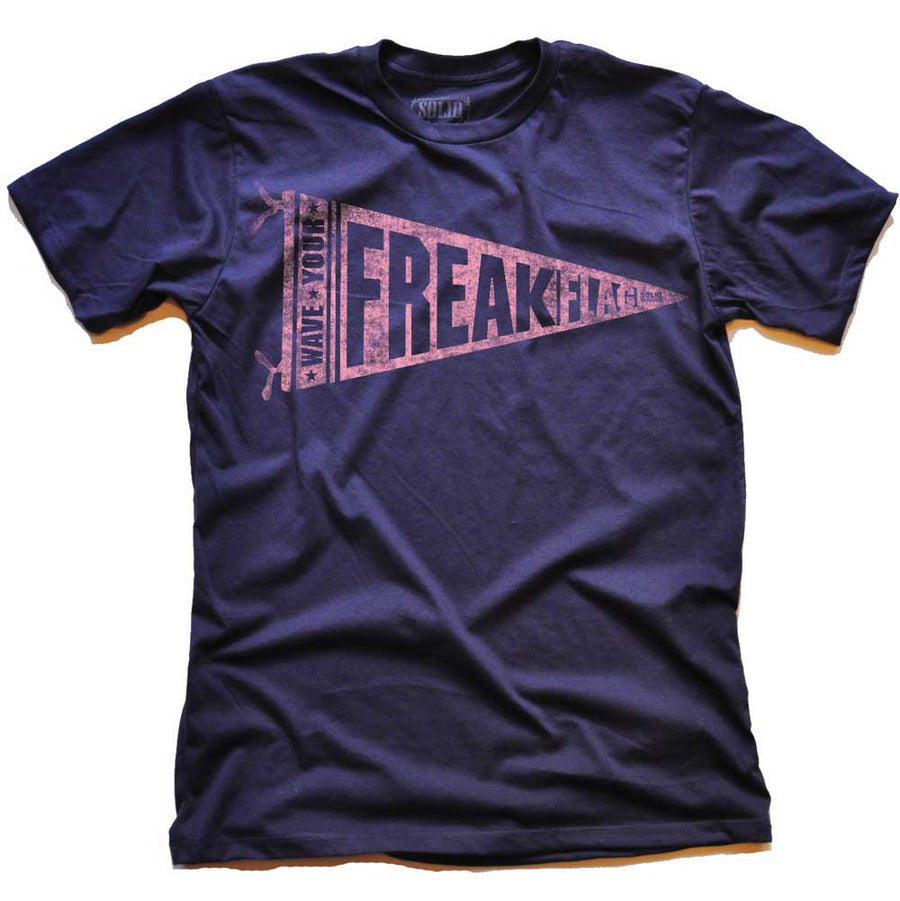 Wave Your Freak Flag Vintage T-shirt | SOLID THREADS