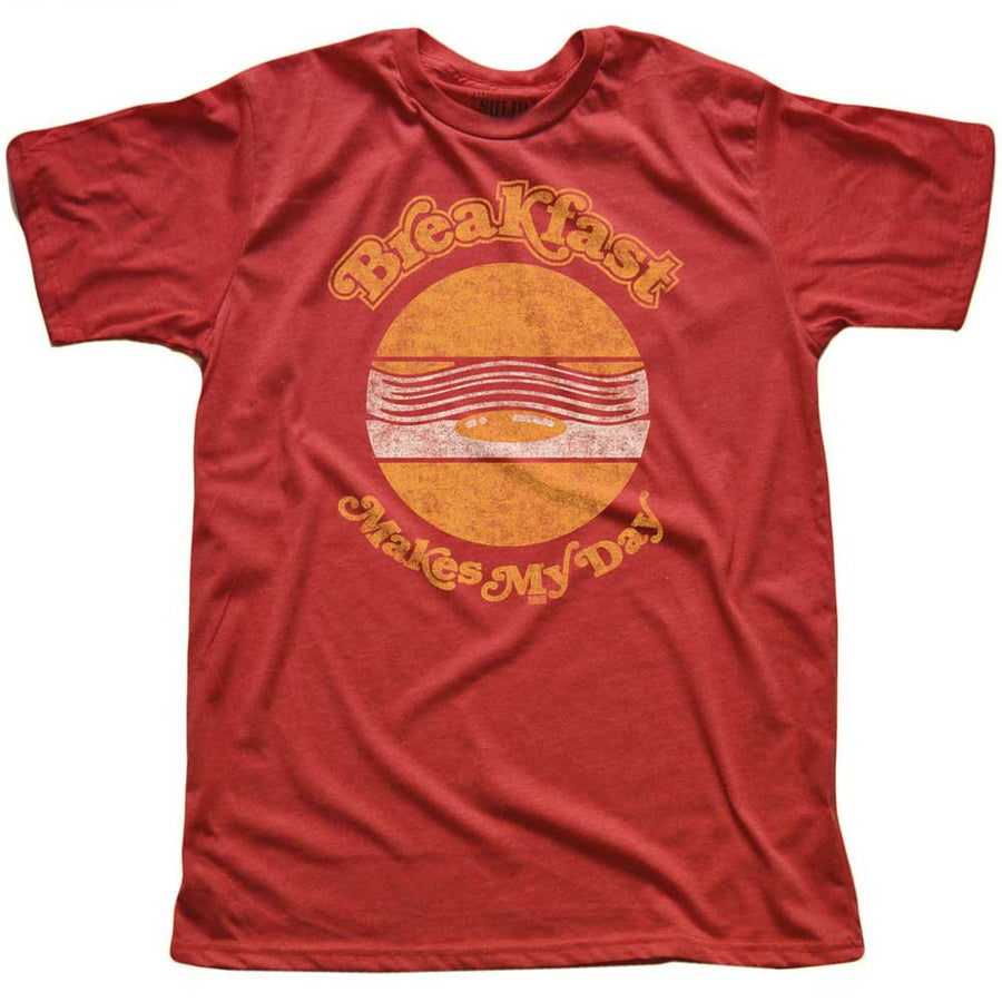 Breakfast Makes My Day T-shirt | SOLID THREADS
