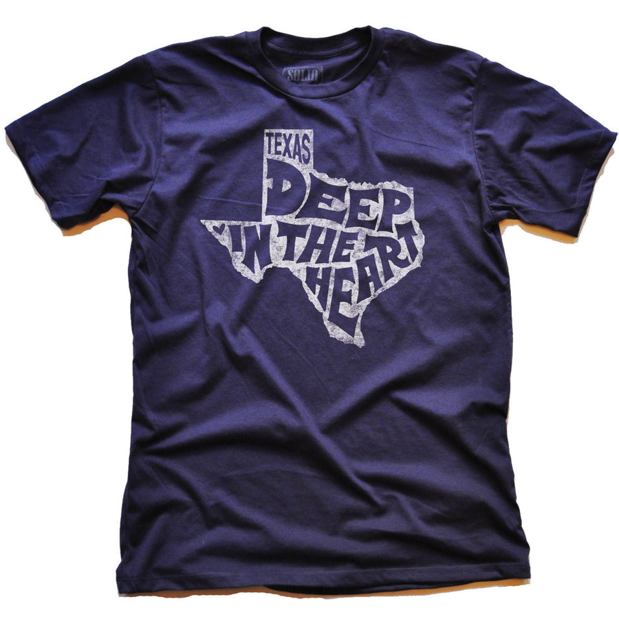 Deep In the Heart Of Texas Vintage Inspired T-shirt | SOLID THREADS