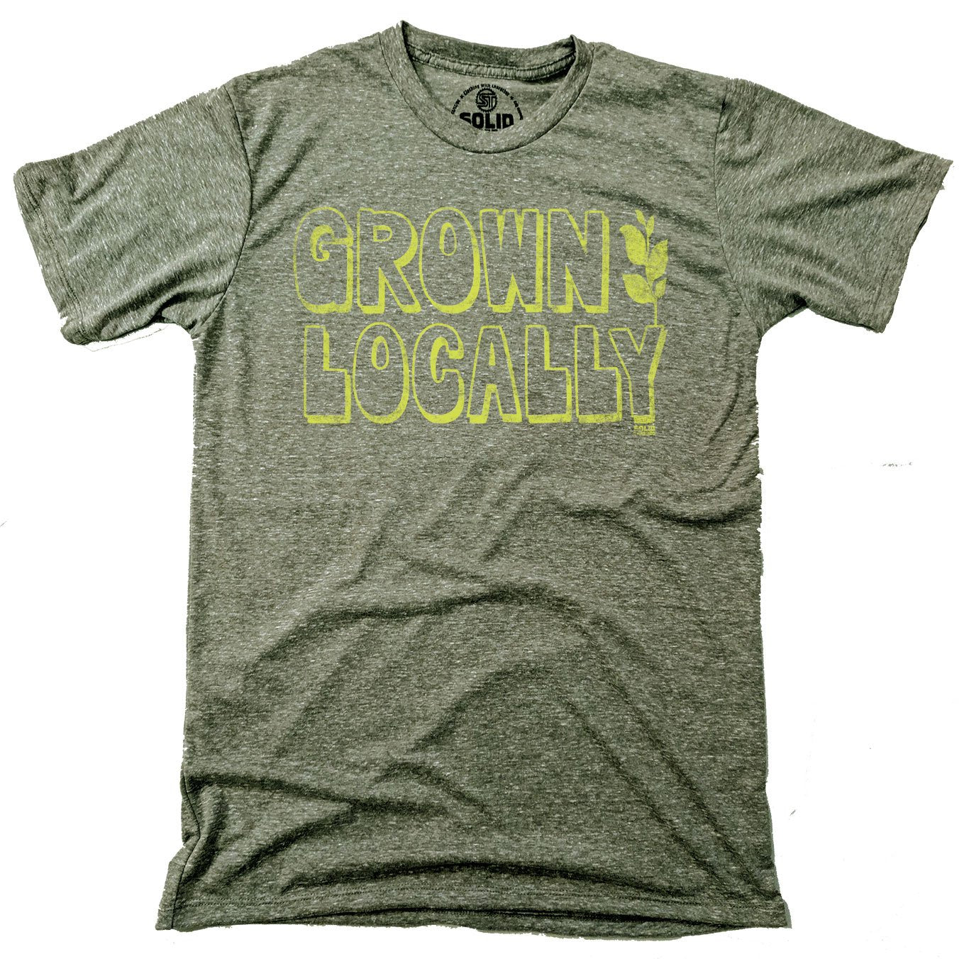Grown Locally Vintage Inspired T-shirt | SOLID THREADS