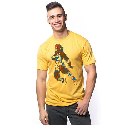 Teen Wolf Vintage Inspired T-shirt on Model | SOLID THREADS