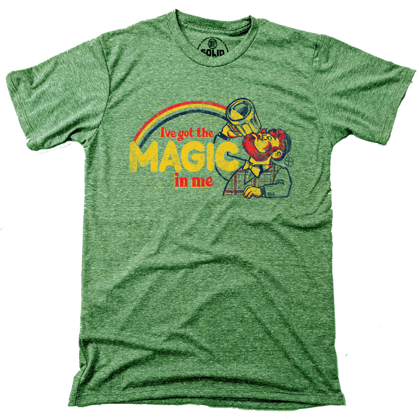 I've Got The Magic In Me Vintage T-Shirt | SOLID THREADS
