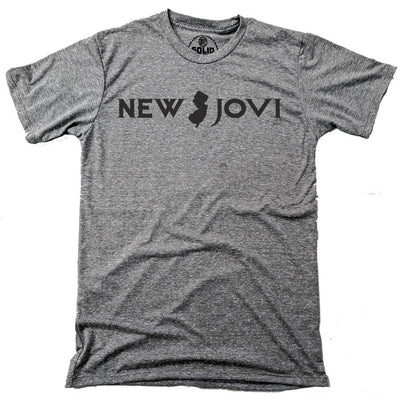 Men's New Jovi Vintage Inspired Tee with funny, Bon Jovi graphic | Solid Threads