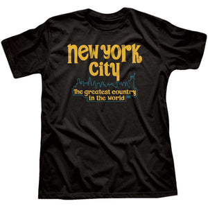New York City The Greatest Country In The World T-shirt