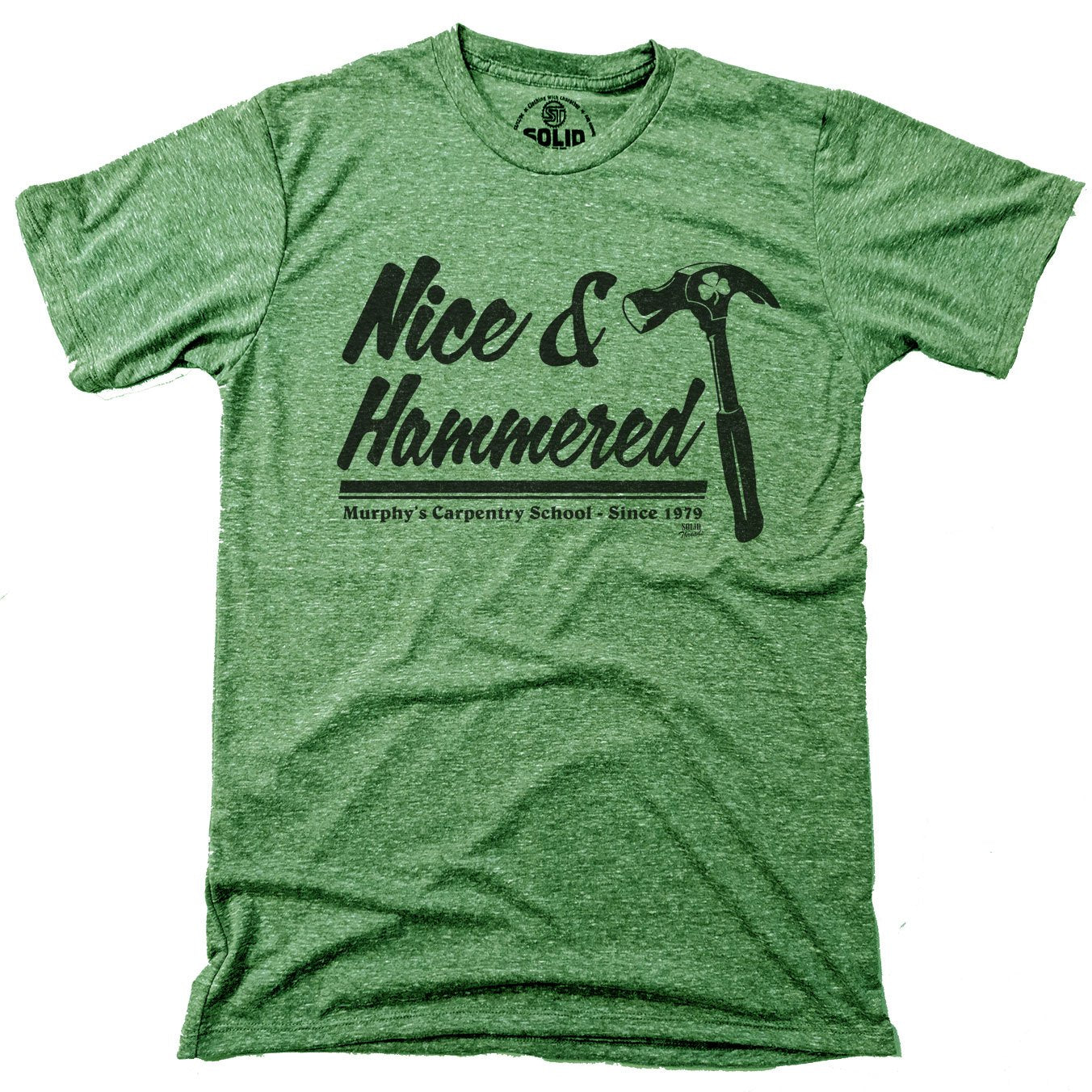 Nice & Hammered Vintage T-shirt | SOLID THREADS
