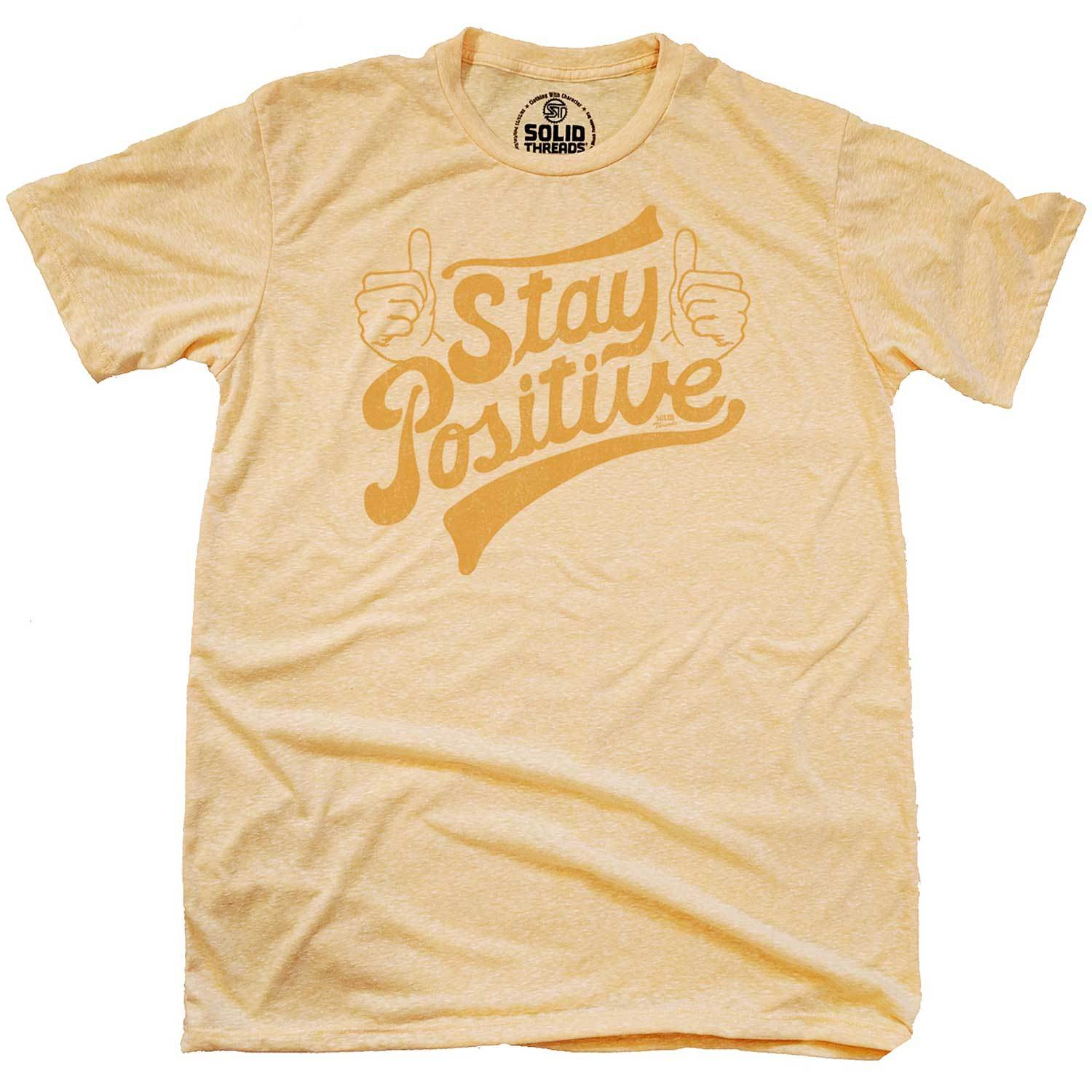 Stay Positive Vintage T-shirt | SOLID THREADS