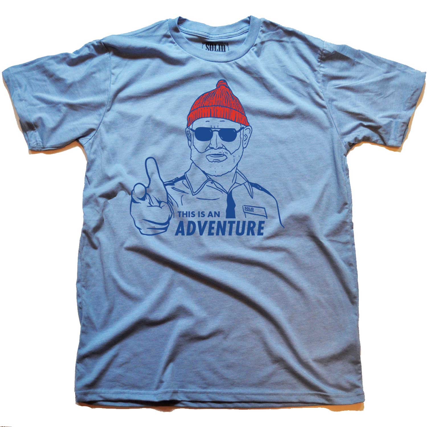 mens_steve_zissou_adventure_vintage_inspired_lightblue_tee_shirt_with_cool_life_acquatic_graphic