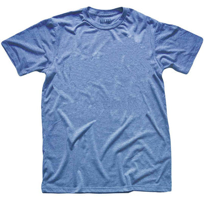 Men's Solid Threads Triblend Royal T-shirt