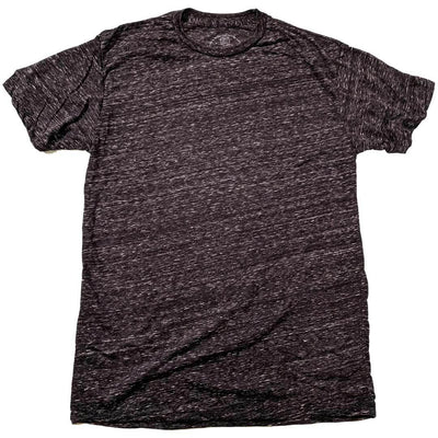 Men's Solid Threads Triblend Dark Charcoal T-shirt
