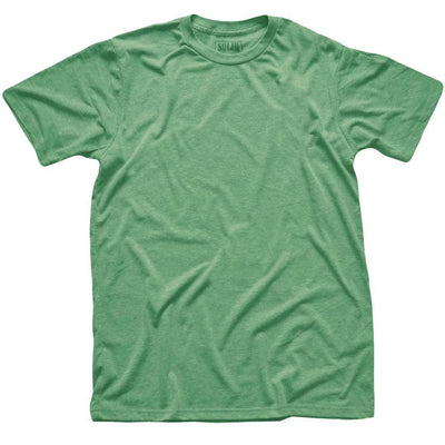 Men's Solid Threads Triblend Kelly T-shirt