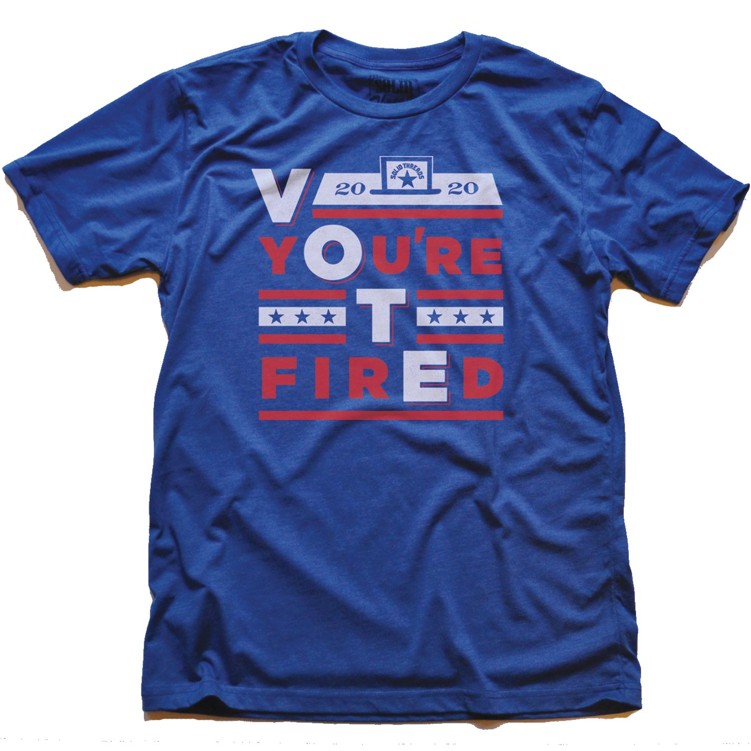 Men's Vote You're Fired Tee | Cool Funny Pro Biden Graphic T-shirt