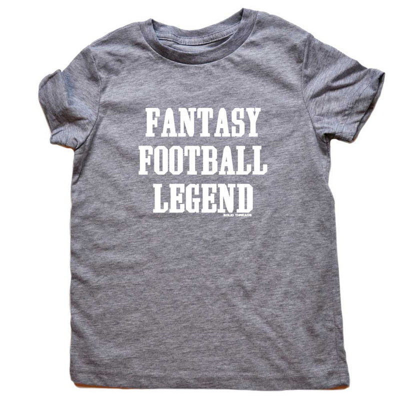 Toddler's Fantasy Football Legend Retro Tee | SOLID THREADS
