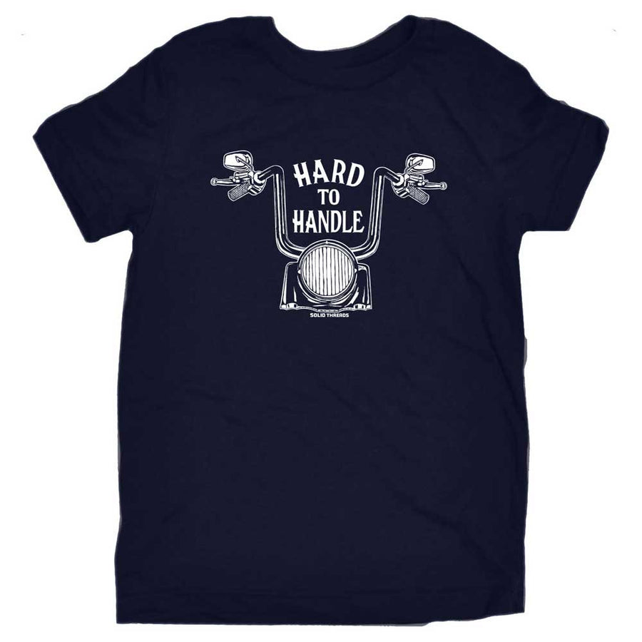 Toddler's Hard To Handle Retro Tee | SOLID THREADS