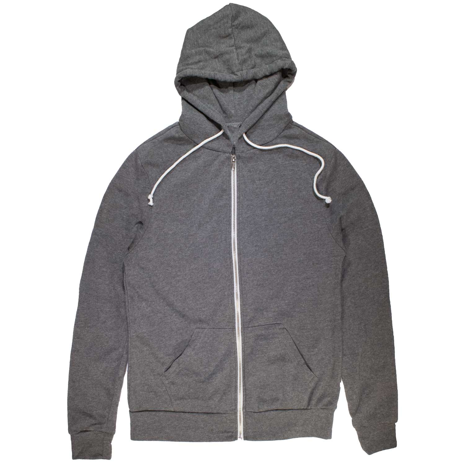 Extra Soft Zip Up Hoodie | Ethically Sourced USA Made Fleece Sweatshirt | SOLID THREADS