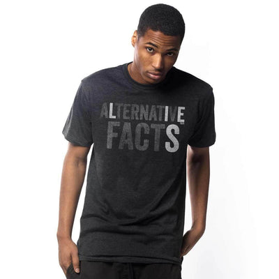 Alternative Facts Vintage Inspired T-shirt on Model | SOLID THREADS