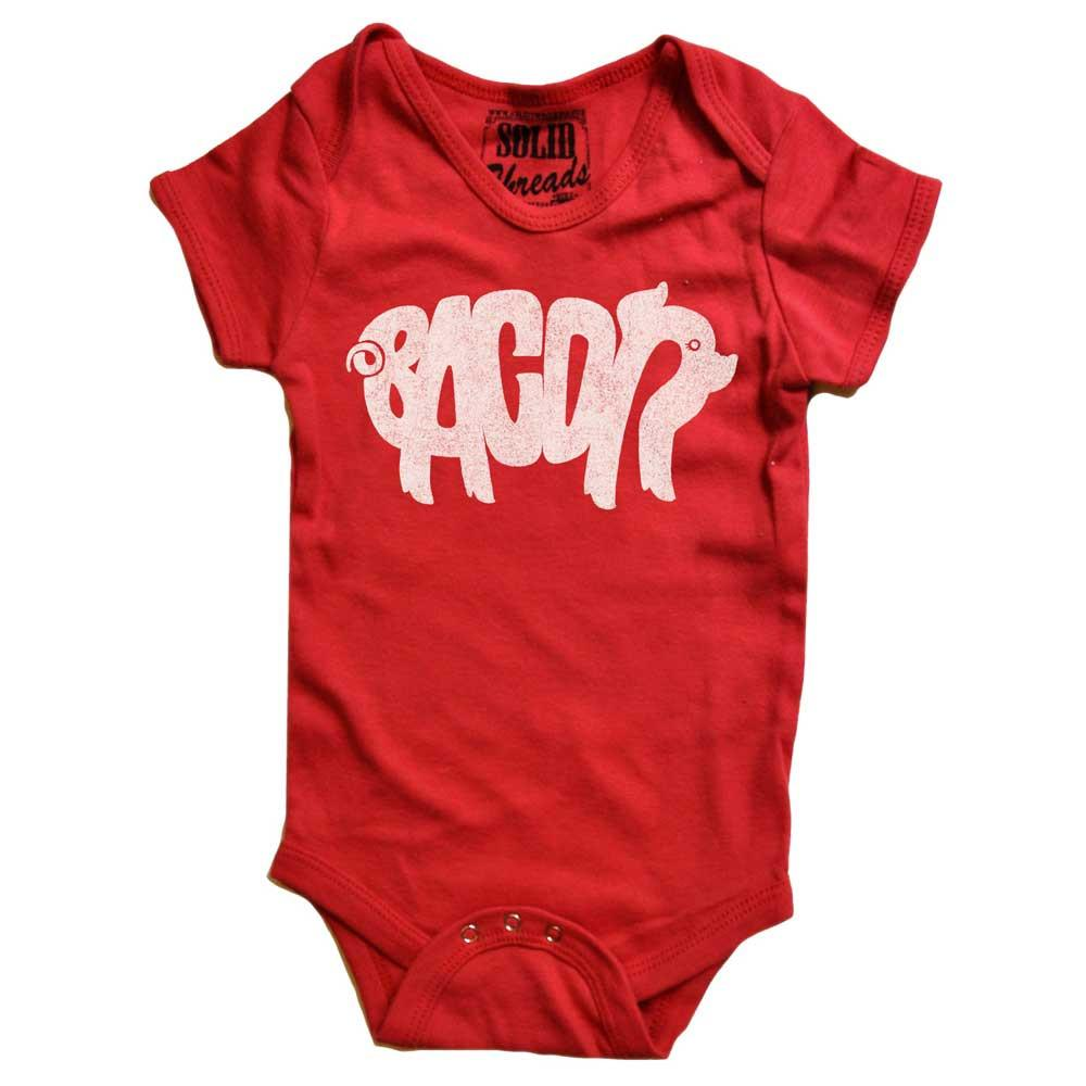 Baby Bacon Retro Onesie | SOLID THREADS