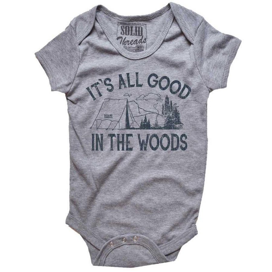 Baby It's All Good In The Woods T-shirt One Piece Romper