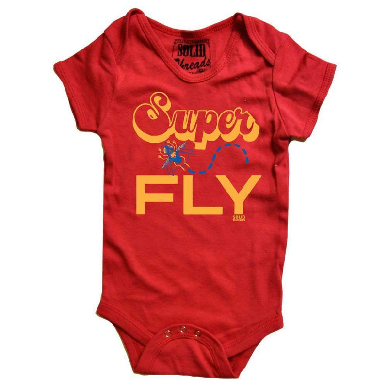 Baby Superfly Retro Onesie | SOLID THREADS