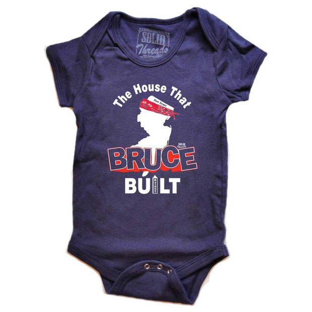 Baby The House That Bruce Built One Piece Romper 1