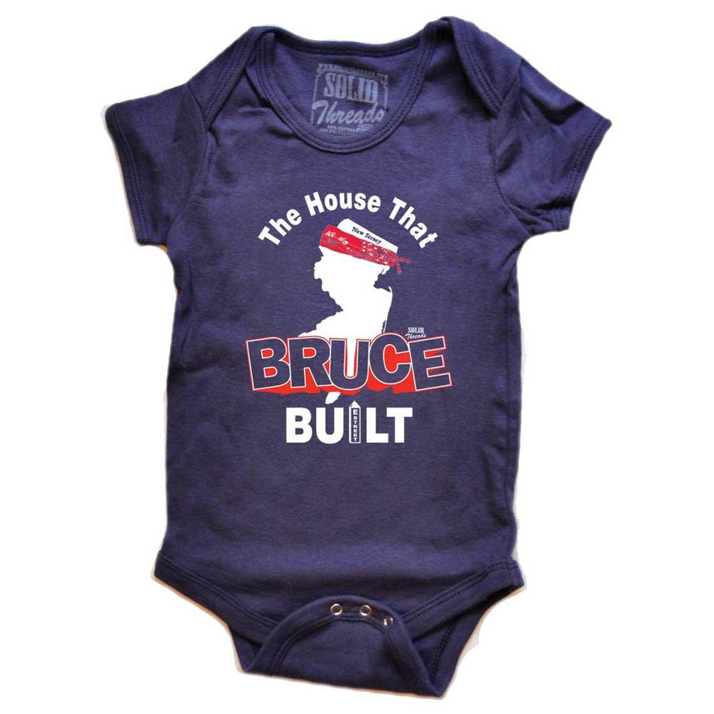 Baby The House That Bruce Built Retro Onesie | SOLID THREADS