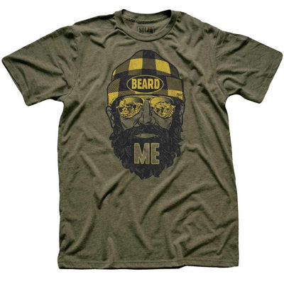 Beard Me Vintage Inspired T-shirt | SOLID THREADS