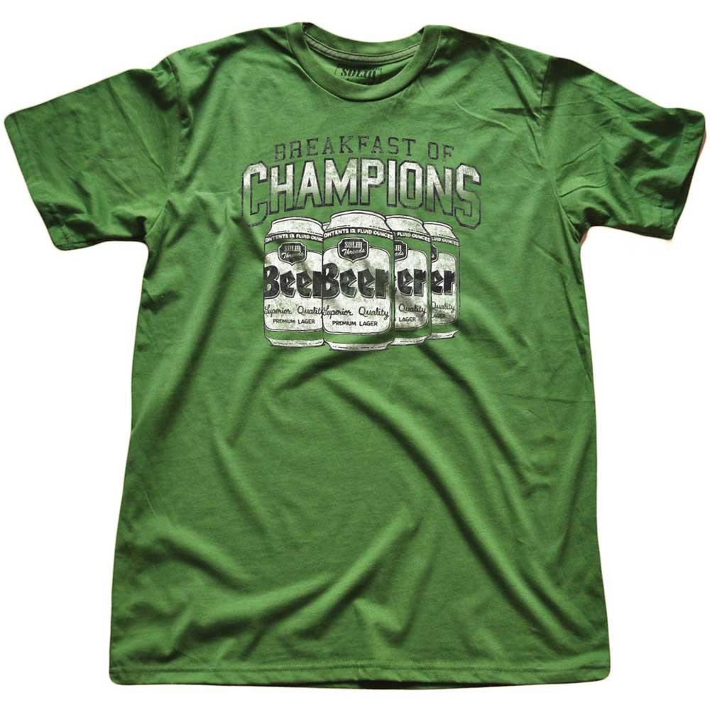 Breakfast Of Champions Vintage Inspired T-shirt | SOLID THREADS