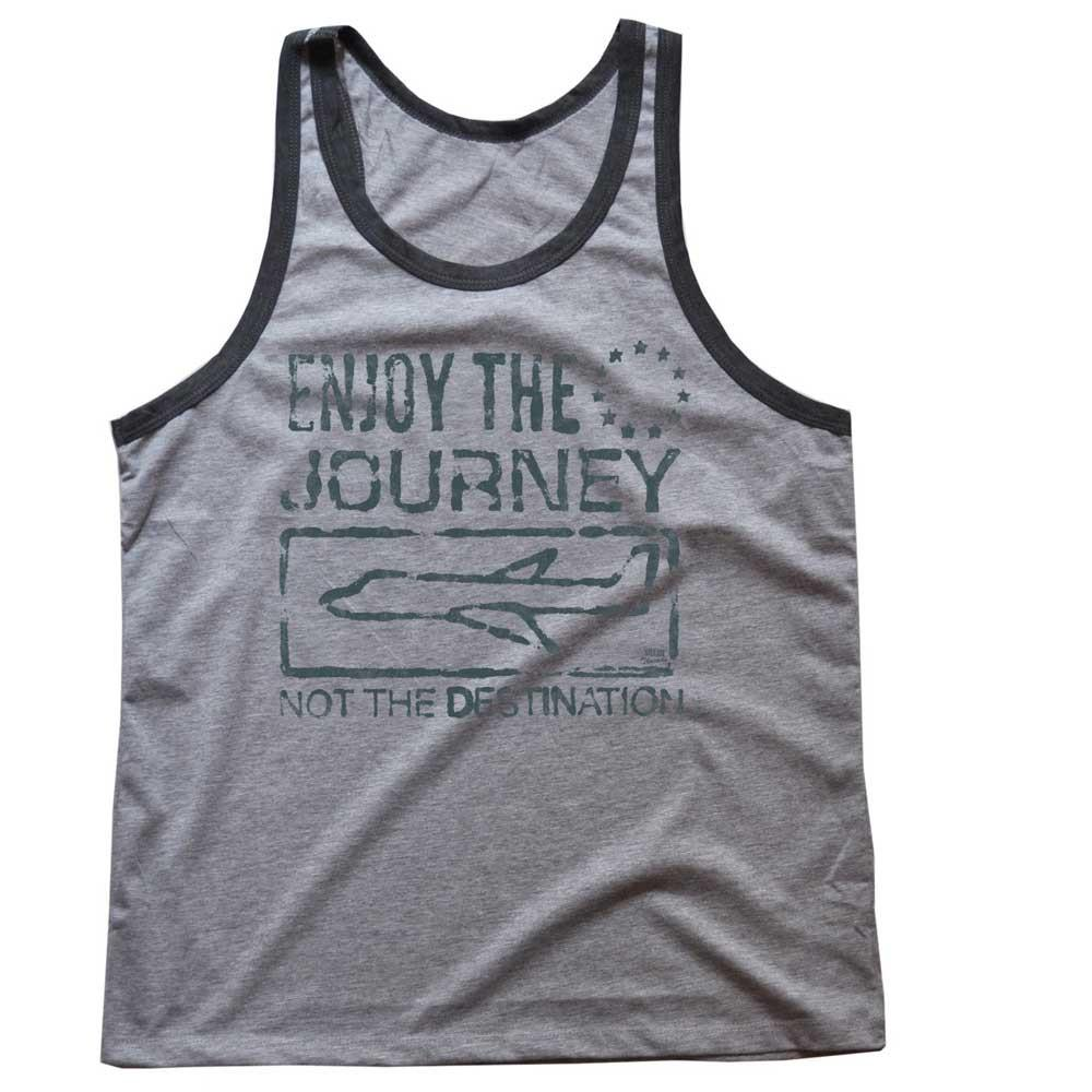 Enjoy The Journey Not The Destination Vintage Inspired Tank Top | SOLID THREADS