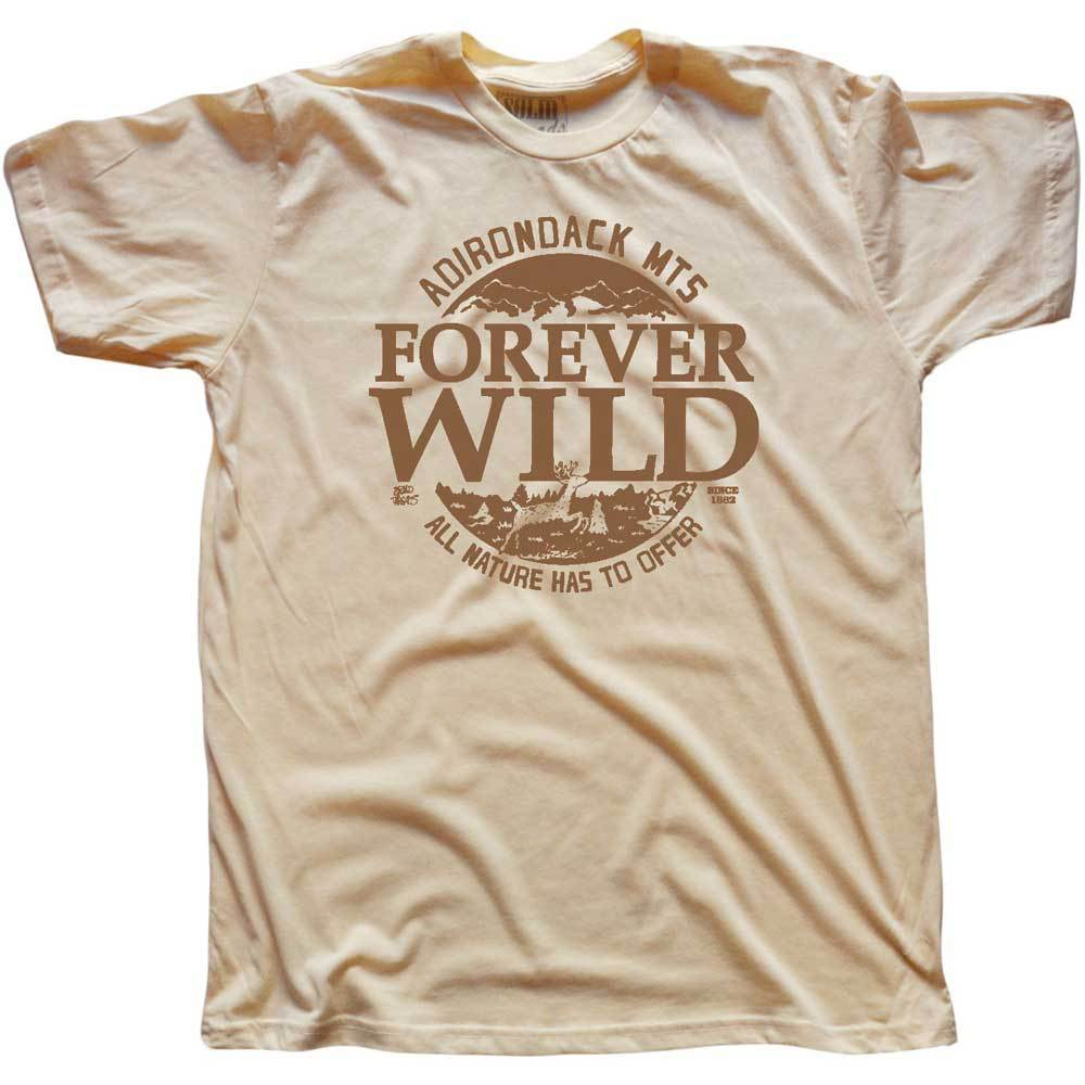 Forever Wild Adirondack Mountains Vintage Inspired T-shirt | SOLID THREADS