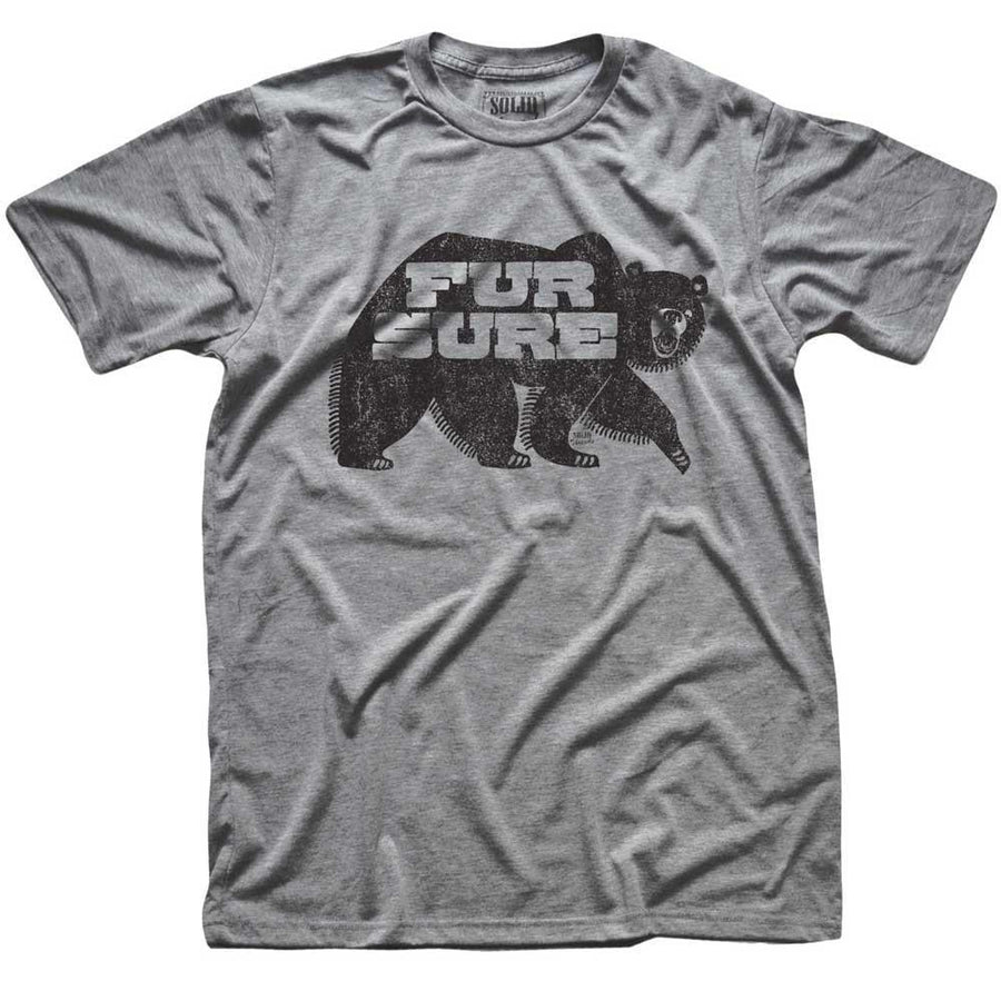 Fur Sure Vintage Inspired T-shirt | SOLID THREADS