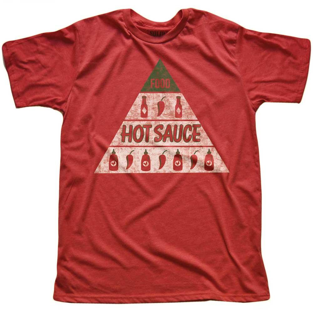 Hot Sauce Vintage Inspired T-shirt | SOLID THREADS