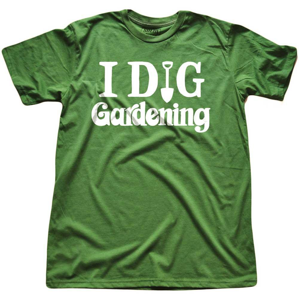 I Dig Gardening Vintage T-shirt | SOLID THREADS
