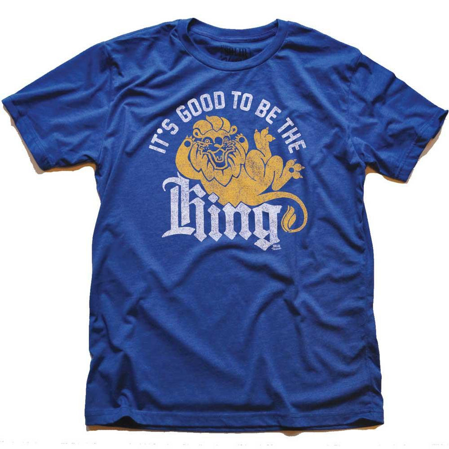 It's Good To Be The King Vintage T-shirt | SOLID THREADS