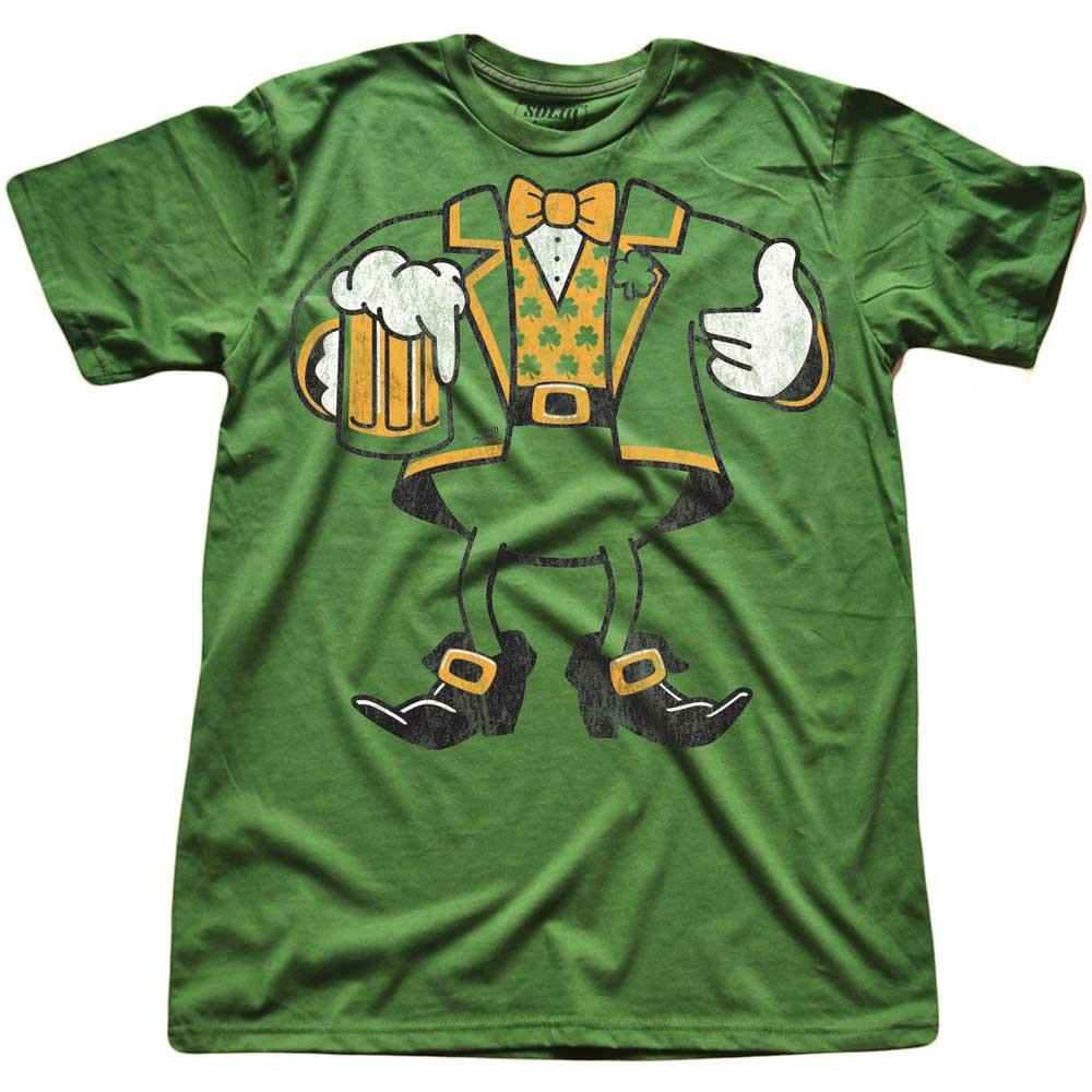 Leprechaun Look-A-Like Vintage T-shirt | SOLID THREADS
