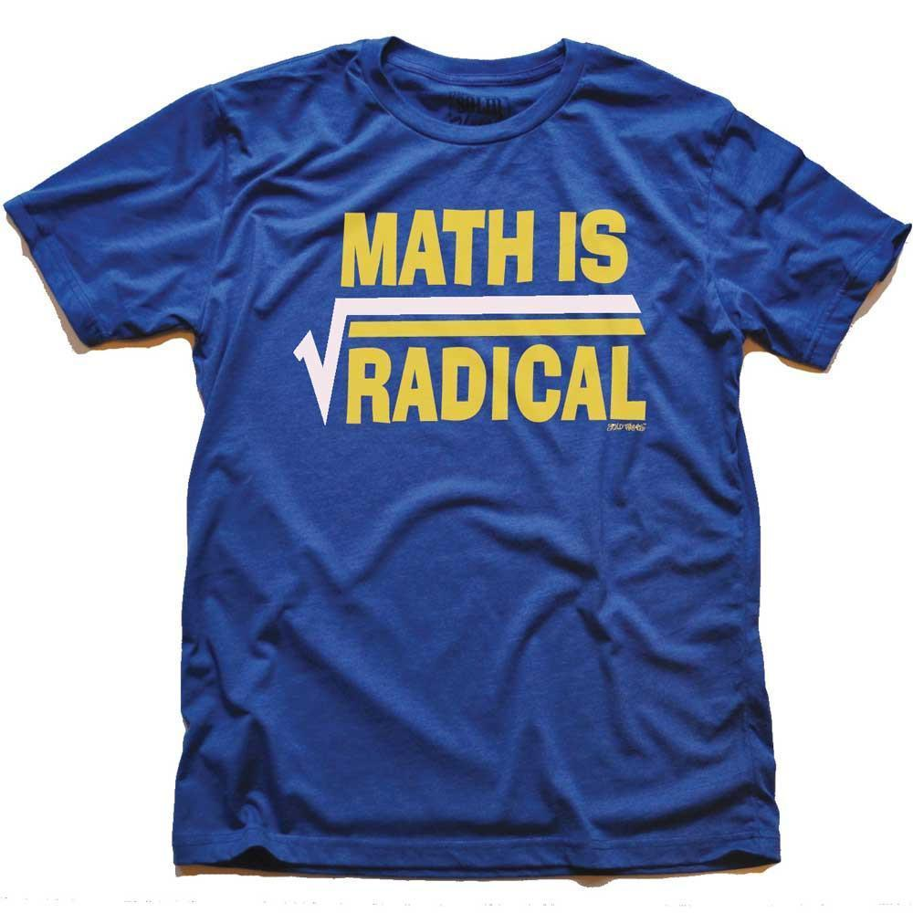 Math Is Radical Vintage Inspired T-shirt | SOLID THREADS