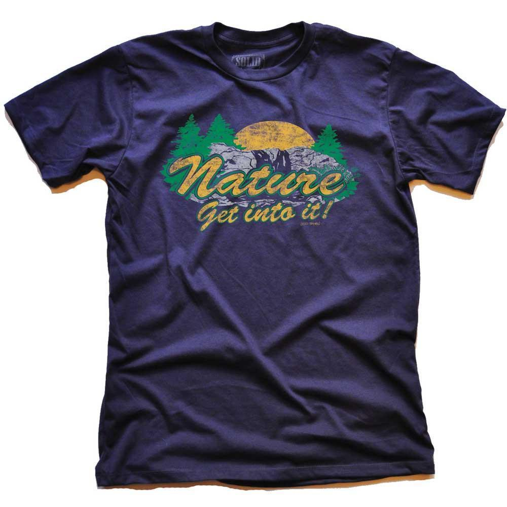 Nature Get Into It Vintage T-shirt | SOLID THREADS