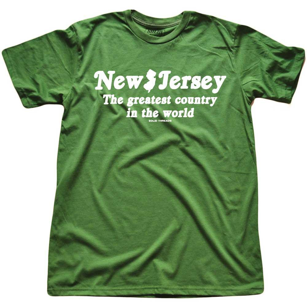 New Jersey The Greatest Country In The World Vintage Inspired T-shirt | SOLID THREADS