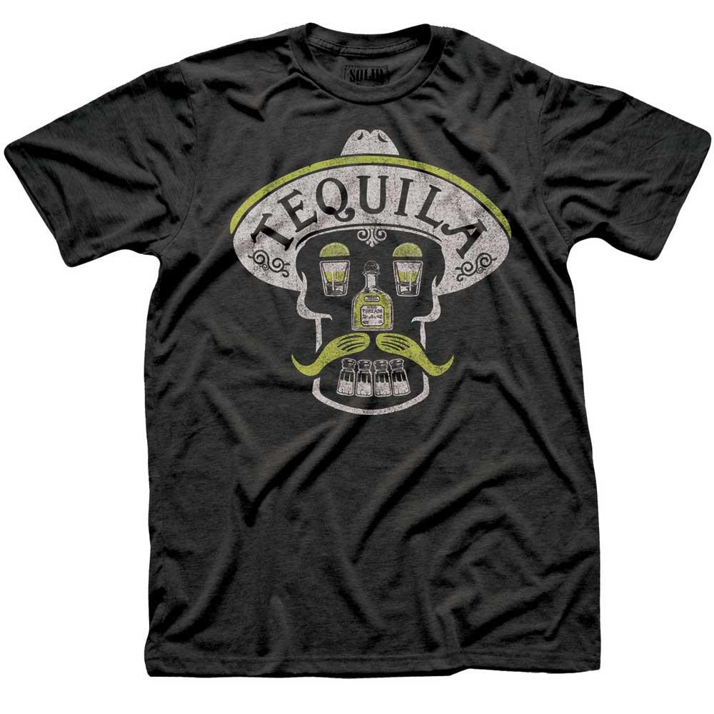 Tequila Skull Vintage T-shirt | SOLID THREADS