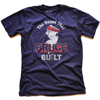 The House That Bruce Built Vintage T-shirt | SOLID THREADS