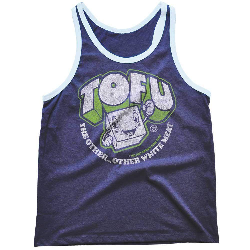 Tofu,The Other Other White Meat Vintage Tank Top | SOLID THREADS