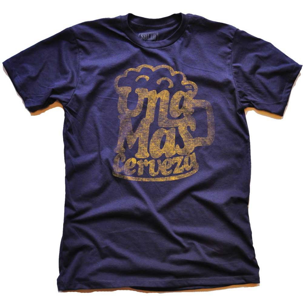 Una Mas Cerveza Vintage Inspired T-shirt | SOLID THREADS
