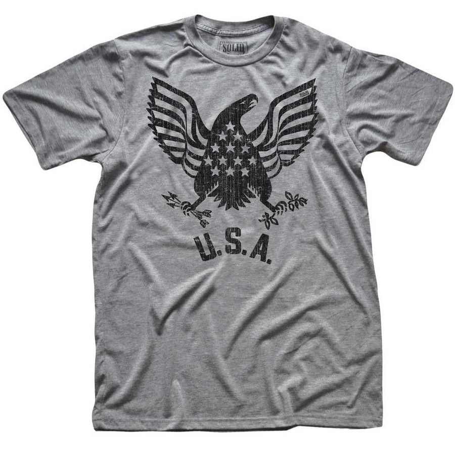 USA Ealge Vintage T-shirt | SOLID THREADS